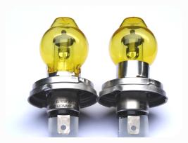 H4 lampen bus t1 t2 t3 6v h4 halogen lampe mit bilux for Gele lampen auto